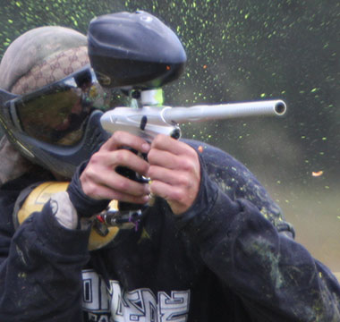 redding paintball players
