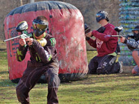 redding paintball park is kid friendly